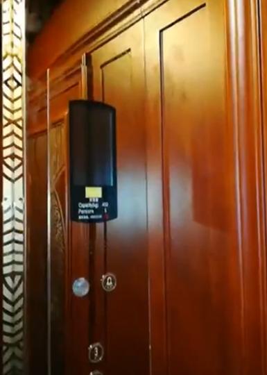 新富豪别墅专用电梯视频8